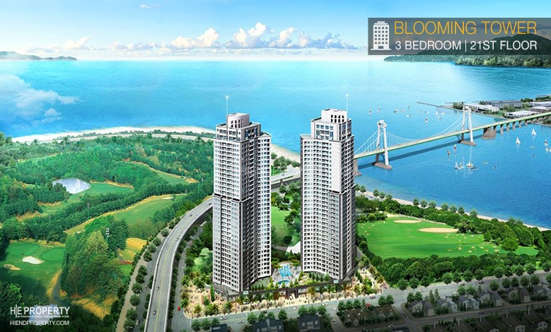 Cho thuê căn hộ Blooming Đà Nẵng, Can ho Blooming Da Nang